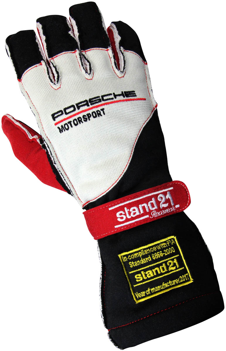 Porsche Motorsport stock Outside Seams II gloves